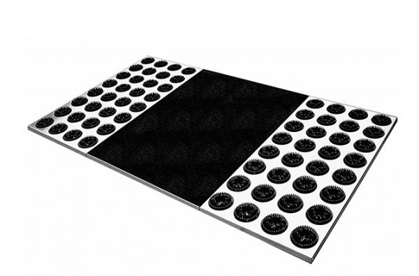 radius t rvorleger feet back 2 schwarz t rvorleger wohn und designobjekte bei 1001stuhl. Black Bedroom Furniture Sets. Home Design Ideas