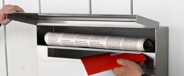 Radius Letterman XXL 2 mit Zeitungsfach - Briefkästen - Wohn ...