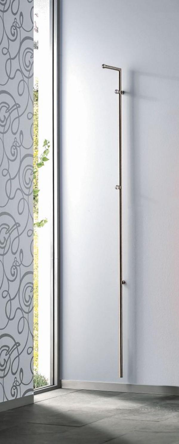 d tec edelstahlwandgarderobe stag 1 wandgarderoben. Black Bedroom Furniture Sets. Home Design Ideas