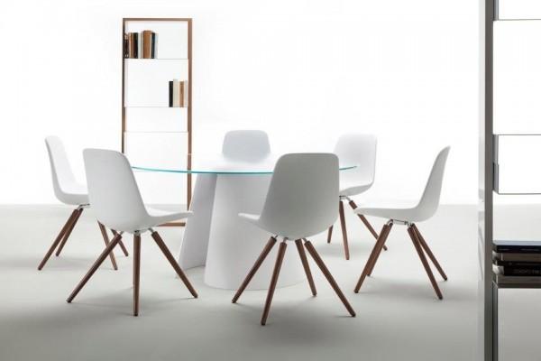 tonon step chair wooden legs trend modern st hle bei 1001stuhl. Black Bedroom Furniture Sets. Home Design Ideas