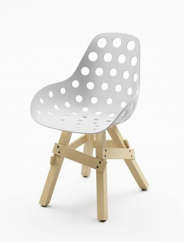 Kubikoff icon dimple holes stuhl trend modern st hle for 1001 stuhl design