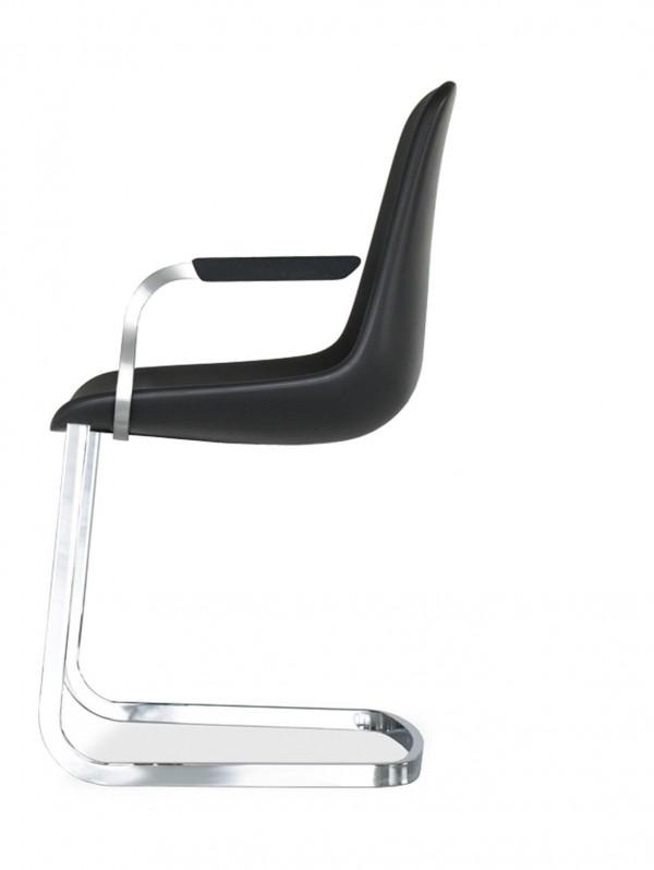 tonon freischwinger step mit armlehnen trend modern. Black Bedroom Furniture Sets. Home Design Ideas