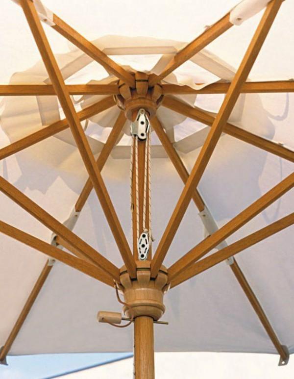 scolaro sonnenschirm palladio teleskopic rechteckig 3x4m mittelmastschirme wohn und. Black Bedroom Furniture Sets. Home Design Ideas