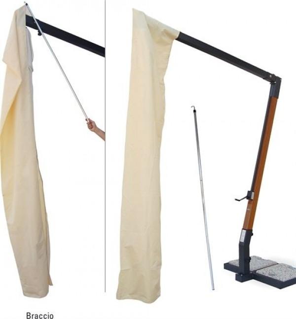 scolaro sonnenschirm palladio braccio rund 3 5m seitenarmschirme wohn und designobjekte. Black Bedroom Furniture Sets. Home Design Ideas