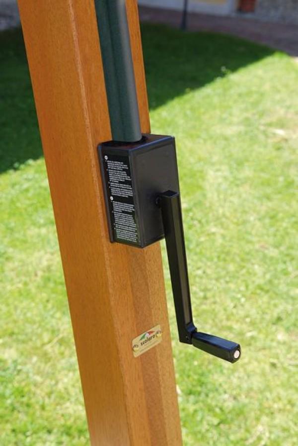 scolaro sonnenschirm palladio braccio rechteckig 3x4m seitenarmschirme wohn und. Black Bedroom Furniture Sets. Home Design Ideas