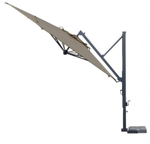 scolaro sonnenschirm galileo dark seitenarmschirme wohn und designobjekte sonnenschirme. Black Bedroom Furniture Sets. Home Design Ideas