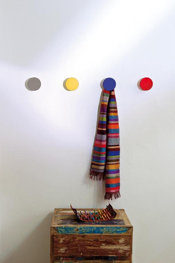 Creativando garderobenhaken art up farbig for 1001stuhl design versandhandel