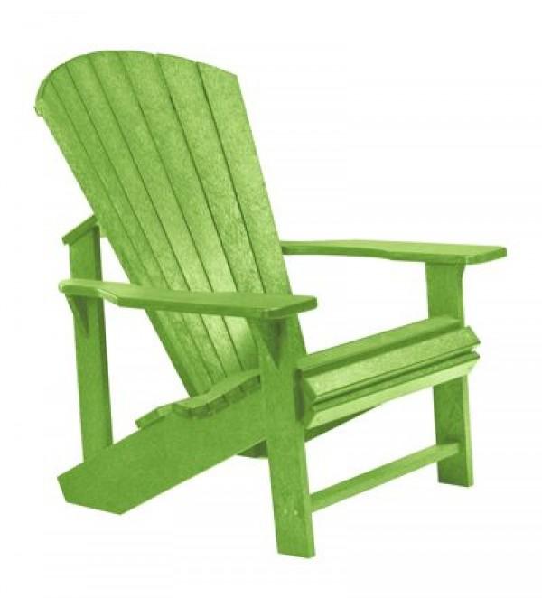 MUSKOKA-STUHL Adirondack aus HDPE-Kunststoff - Garten-/Cafe Stühle ...