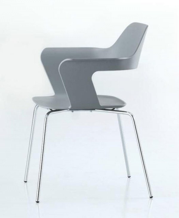 radius design stuhl mu stapelbar trend modern st hle