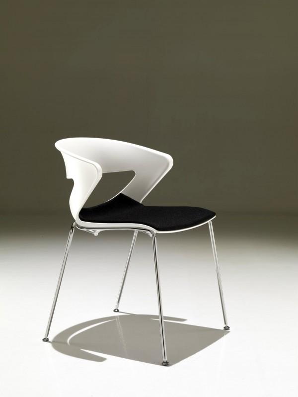 Kastel stuhl kicca sitz gepolstert b ro praxis for 1001 stuhl design