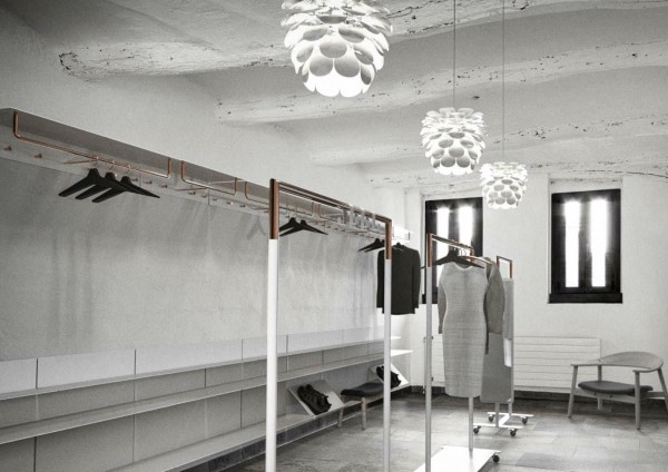 Garderobenstaender Aus Kupfer : Frost garderobenst?nder bukto kupfer breite cm