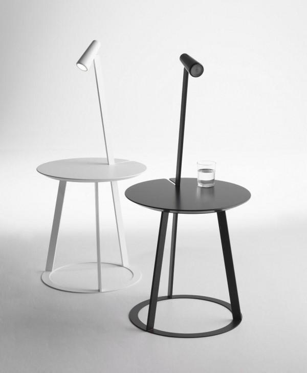 Horm beistelltisch albino beistelltische tische bei for 1001 stuhl design