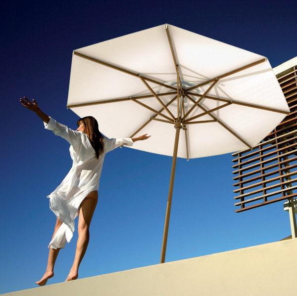 scolaro sonnenschirm palladio standard rund 4m mittelmastschirme wohn und designobjekte. Black Bedroom Furniture Sets. Home Design Ideas
