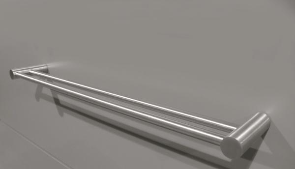 Turbo FROST NOVA² Edelstahl Handtuchhalter 4 Doppel - Handtuchhalter SV87
