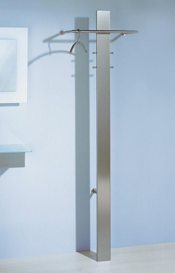 d tec wandgarderobe mister t edelstahl wandgarderoben. Black Bedroom Furniture Sets. Home Design Ideas