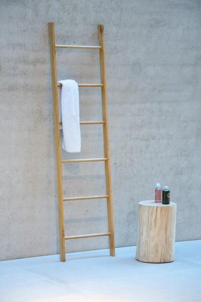 jan kurtz handtuchleiter hop eiche handtuchhalter wohn und designobjekte bad accessoires. Black Bedroom Furniture Sets. Home Design Ideas