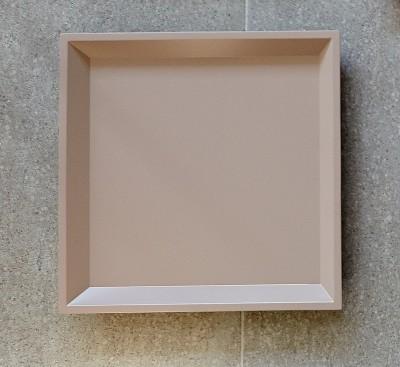 Tablett Quadratisch 35X35 Farbe Taupe - Zubehör Bei 1001Stuhl