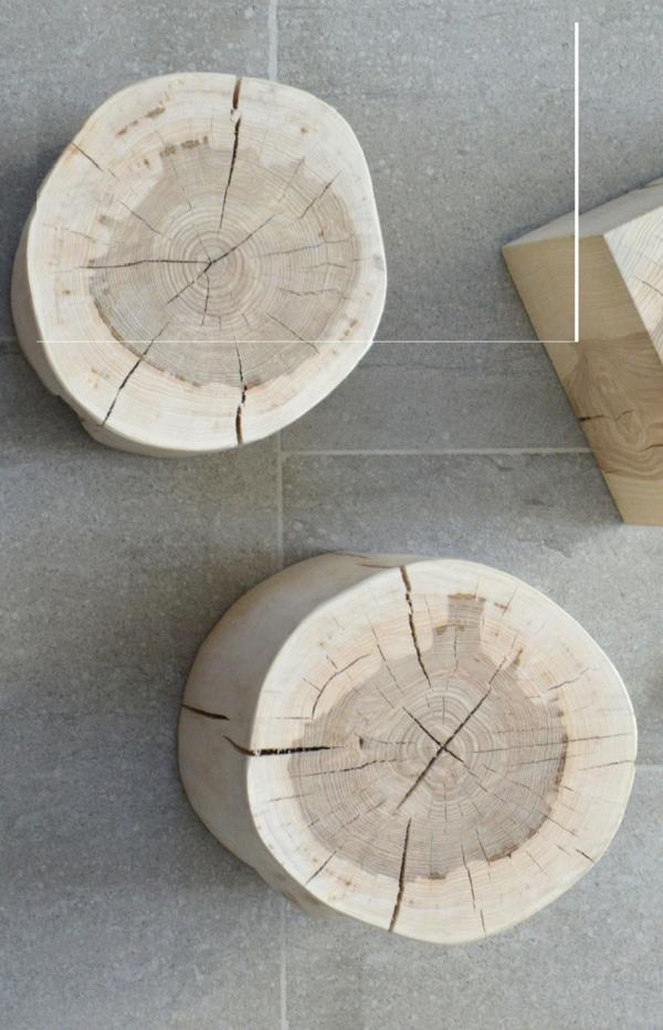 jan kurtz hocker beistelltisch block kernesche rund h he 38 cm hocker sitzb nke st hle. Black Bedroom Furniture Sets. Home Design Ideas