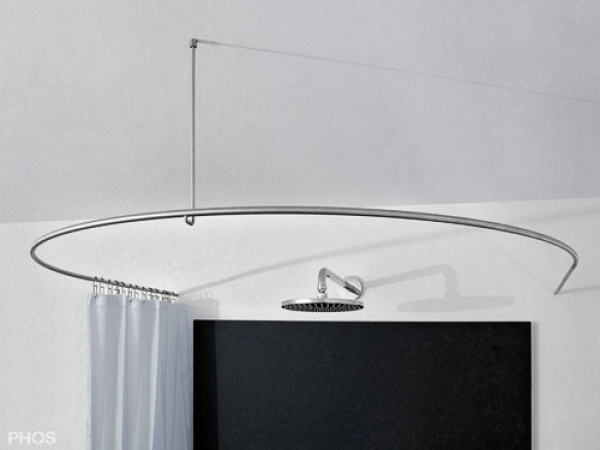 phos edelstahl duschvorhangstange halbkreis verl ngert dr500hd800 duschvorhangstangen wohn. Black Bedroom Furniture Sets. Home Design Ideas