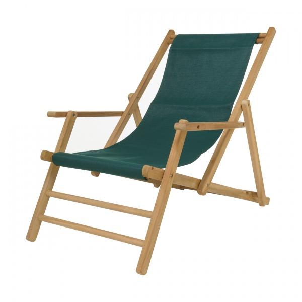 Jan Kurtz Maxx Liegestuhl Teak - Sonnenliegen - Stühle bei 1001stuhl