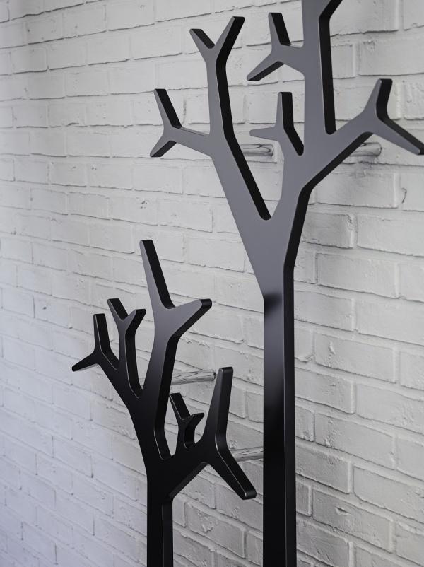 Swedese Wandgarderobe Tree Höhe 134 cm - Wandgarderoben