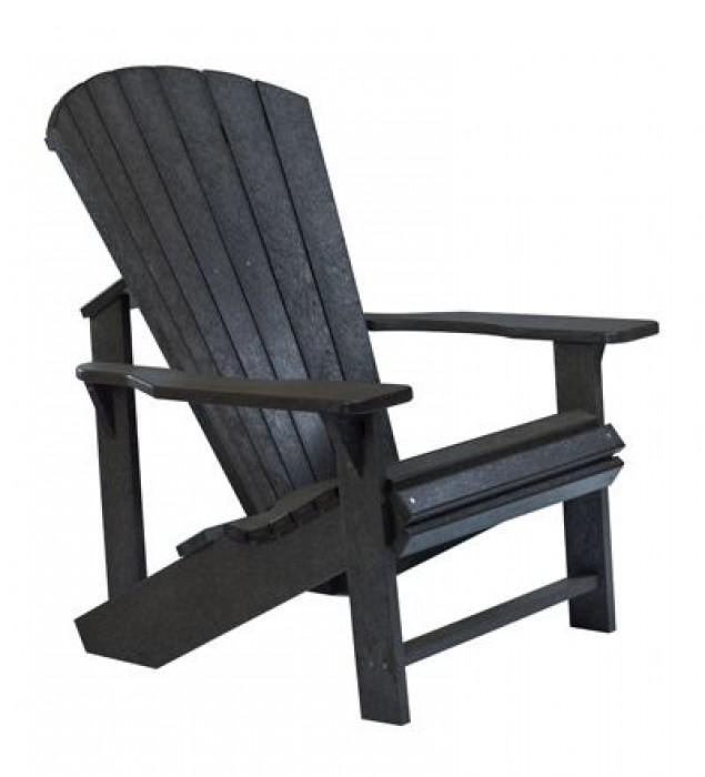 muskoka stuhl adirondack aus hdpe kunststoff ebay. Black Bedroom Furniture Sets. Home Design Ideas