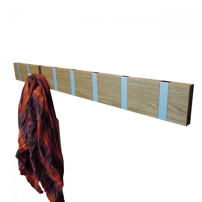knax 8 garderobe haken in silber. Black Bedroom Furniture Sets. Home Design Ideas