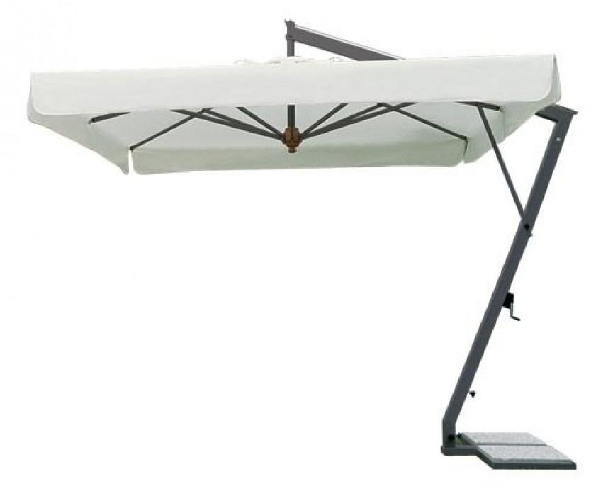 scolaro sonnenschirm napoli braccio rechteckig 3x4m seitenarmschirme wohn und designobjekte. Black Bedroom Furniture Sets. Home Design Ideas