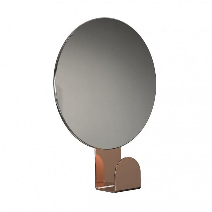 frost wandspiegel unu rund mit haken spiegel garderoben spiegel bei. Black Bedroom Furniture Sets. Home Design Ideas