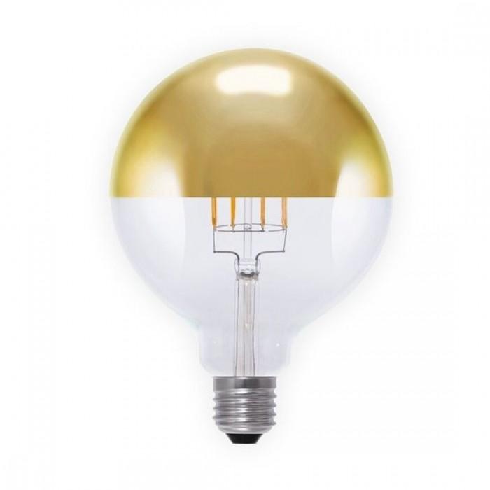 segula led filament globe 125 gold e27 6 w 40 w dimmbar led leuchtmittel leuchten led. Black Bedroom Furniture Sets. Home Design Ideas