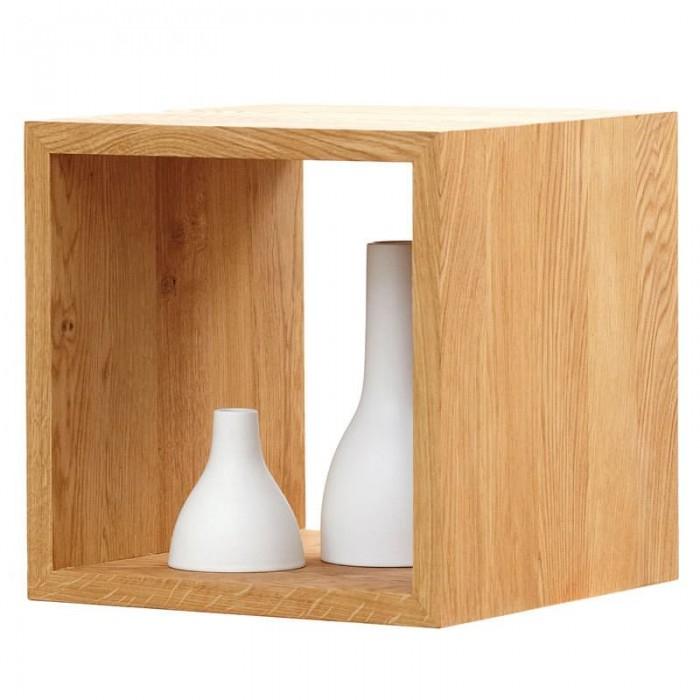 jan kurtz cubus s 42 cm w rfel tisch eiche beistelltische tische beistelltische bei. Black Bedroom Furniture Sets. Home Design Ideas