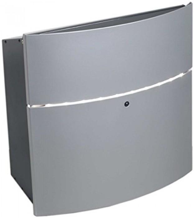 safepost briefkasten sp 124 led korpus anthrazit front silber ebay. Black Bedroom Furniture Sets. Home Design Ideas